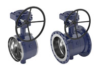 vexve control and shut off butterfly valves, full bore