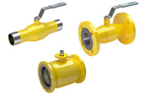 vexve gas ball valves, reduced bore