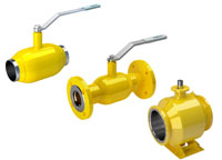vexve gas ball valves, full bore