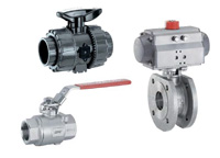 gemu ball valves plastic and mental
