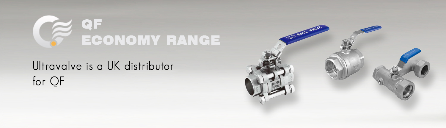 OF stainless steel ball valve range
