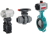 gemu butterfly valves plastic and metal