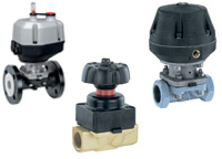 gemu diaphragm valves metal industry