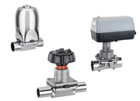 gemu diaphragm valves stainless steel sterile applications