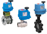 electrically actuated process valves