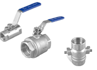 forged steel ball valves OF range