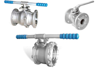 one piece water ball valves OF range