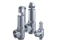 Series 451 goetze armaturen safety valves