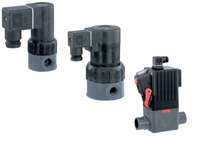 gemu solenoid valves plastic and metal