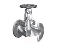 ari armaturen stop valve with bellows seal