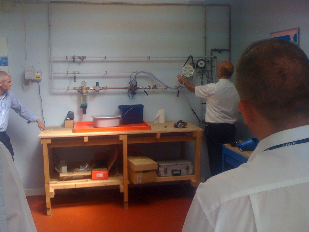 RPZ Testing demonstration