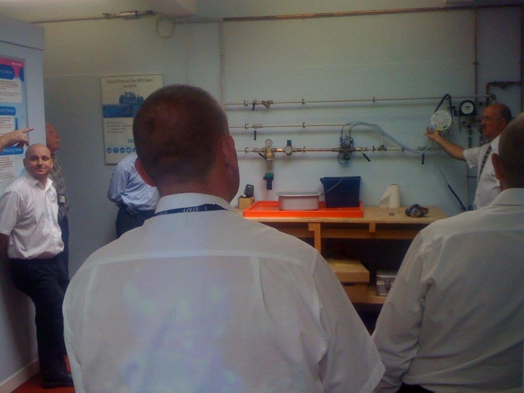 RPZ valve testing