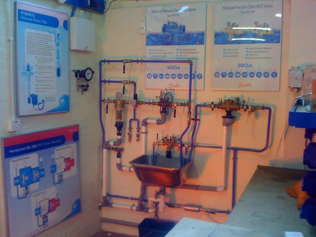 RPZ valve service