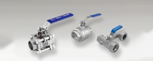 OF stainless steel ball valves