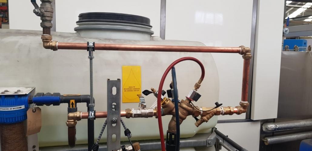 RPZ valve service centre