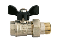 union ended ball valve
