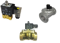 Brass 2/2 normally closed 0 rated economical solenoid valve range