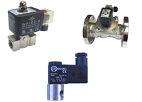 Stainless 2/2 normally closed 0 rated economical solenoid valve