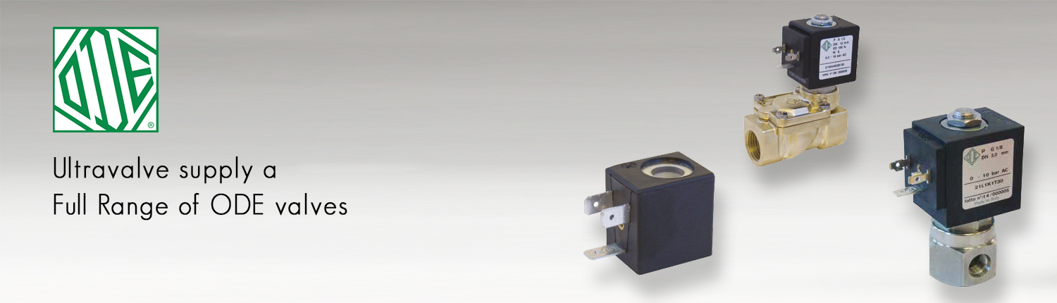 ODE solenoid valve European supply